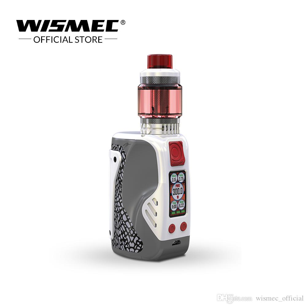Wismec REULEAUX TINKER 300W with COLUMN tank 6.5ml powered by triple 18650 batteries Electronic cigarette vape kit