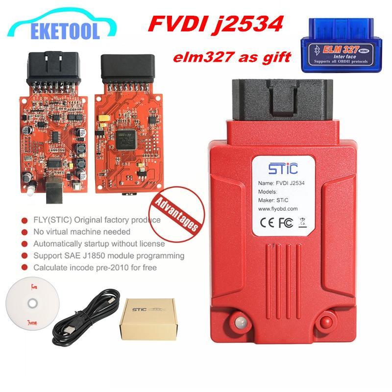 Supports Online Module FVDI j2534 For Focom/Mazda Supports Online  Software/Firmware Update SAE J2534 Programming Module