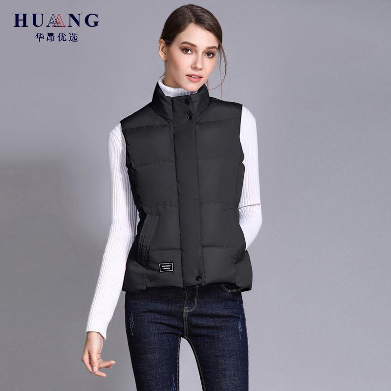 9f0ce292af4 2019 Spring Autumn Vest Female Casual Warm Vests Women s Sleeveless ...