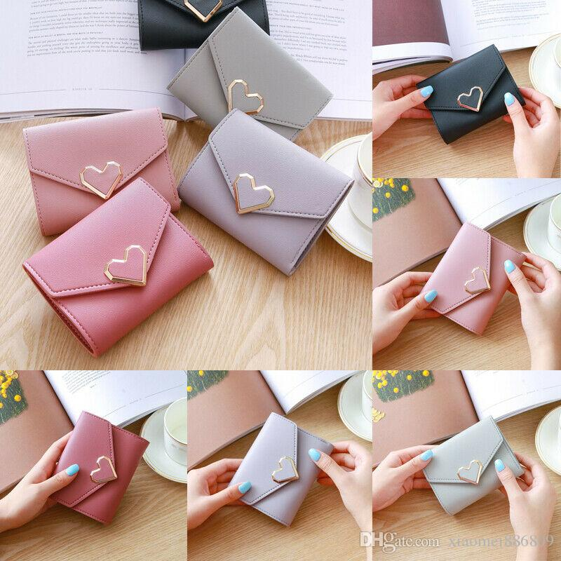 Fashion Lady Women Leather Clutch Wallet Mini Card Holder Case Purse Handbag NEW