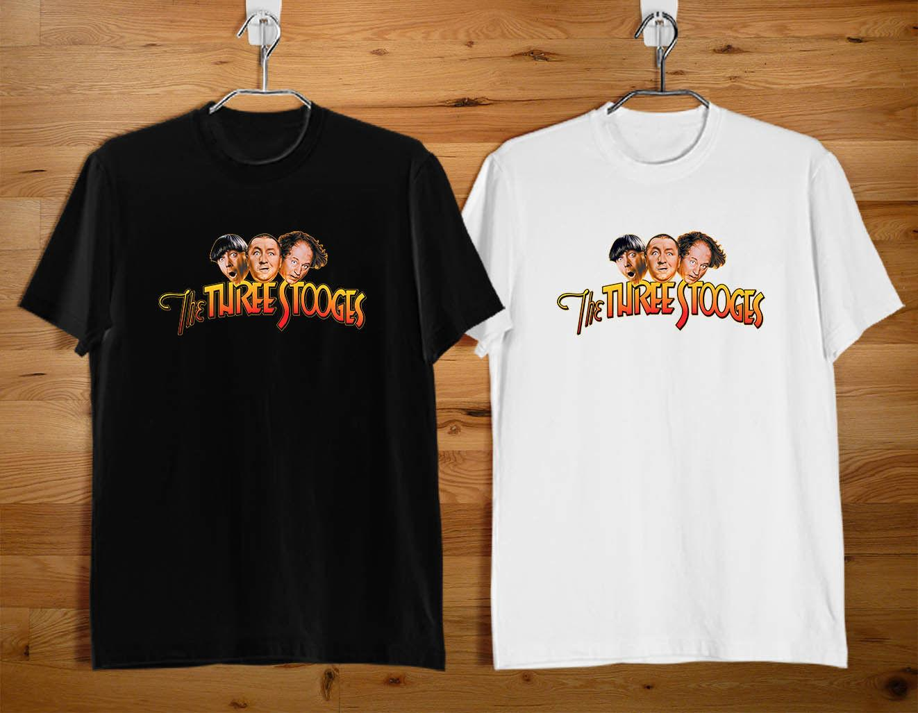 5927077fde THREE STOOGES Pick Your Friends Men's T-shirt Size S-2XL Funny free  shipping Unisex Tshirt top