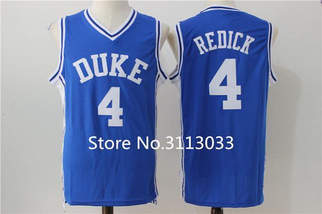 on sale 2498c 49941 JJ Redick #4 Duke Blue Devils College Top Basketball Jersey Stitched XS-XXL  vest Jerseys NCAA