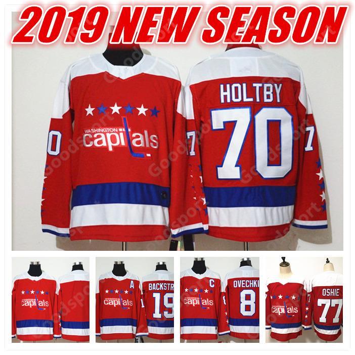 2019 NEW Washington Capital 8 Alex Ovechkin 77 TJ Oshie 92 Evgeny Kuznetsov  19 Backstrom 70 Holtby ICE Hockey JERSEYS CHEAP BLUE BLACK FRIDAY ADI  WHOLESALE ... 9eda71de0