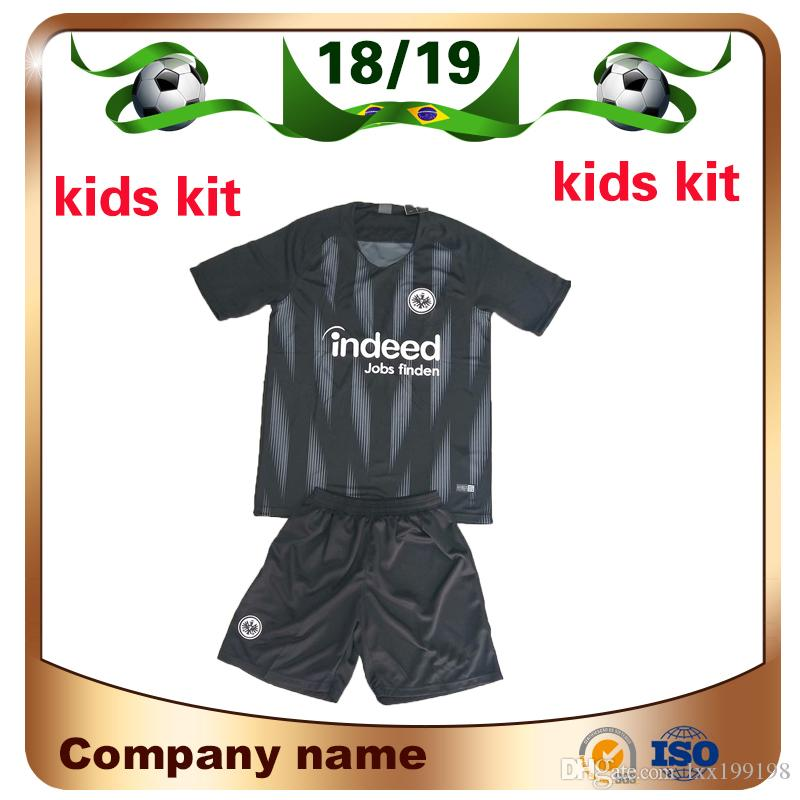 Großhandel 2019 Eintracht Frankfurt Kinder Trikot Soccer Jersey 18