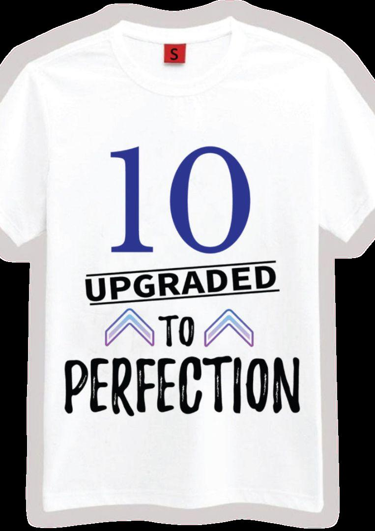 10 Aged Perfection T Shirt10th Birthday Gift Presents For Year Old Boys Funny Unisex Casual Tshirt Tee Shirts Online Cool From Buyfriendly