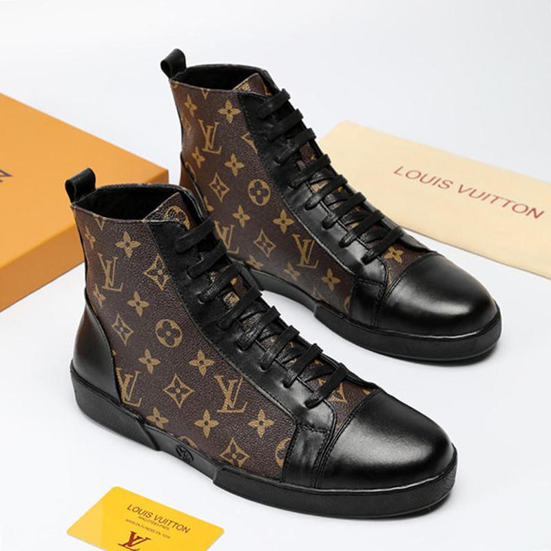 95549bb046 Großhandel Männer Schuhe Turnschuhe Stiefeletten TATTOO Match Up Sneaker Stiefel  Heißer Verkauf Herren Schuhe Knöchel Mode Stiefel High Top Stil Bottes ...