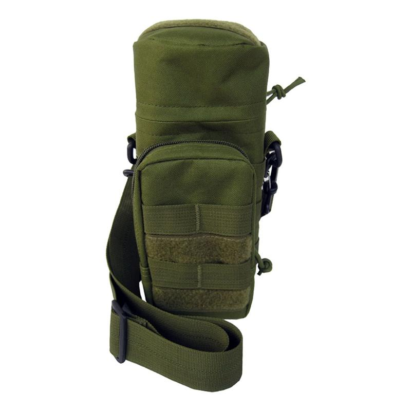 Molle Zipper Water Bottle Utility Pouch Medic w Small Mess Pouch war game