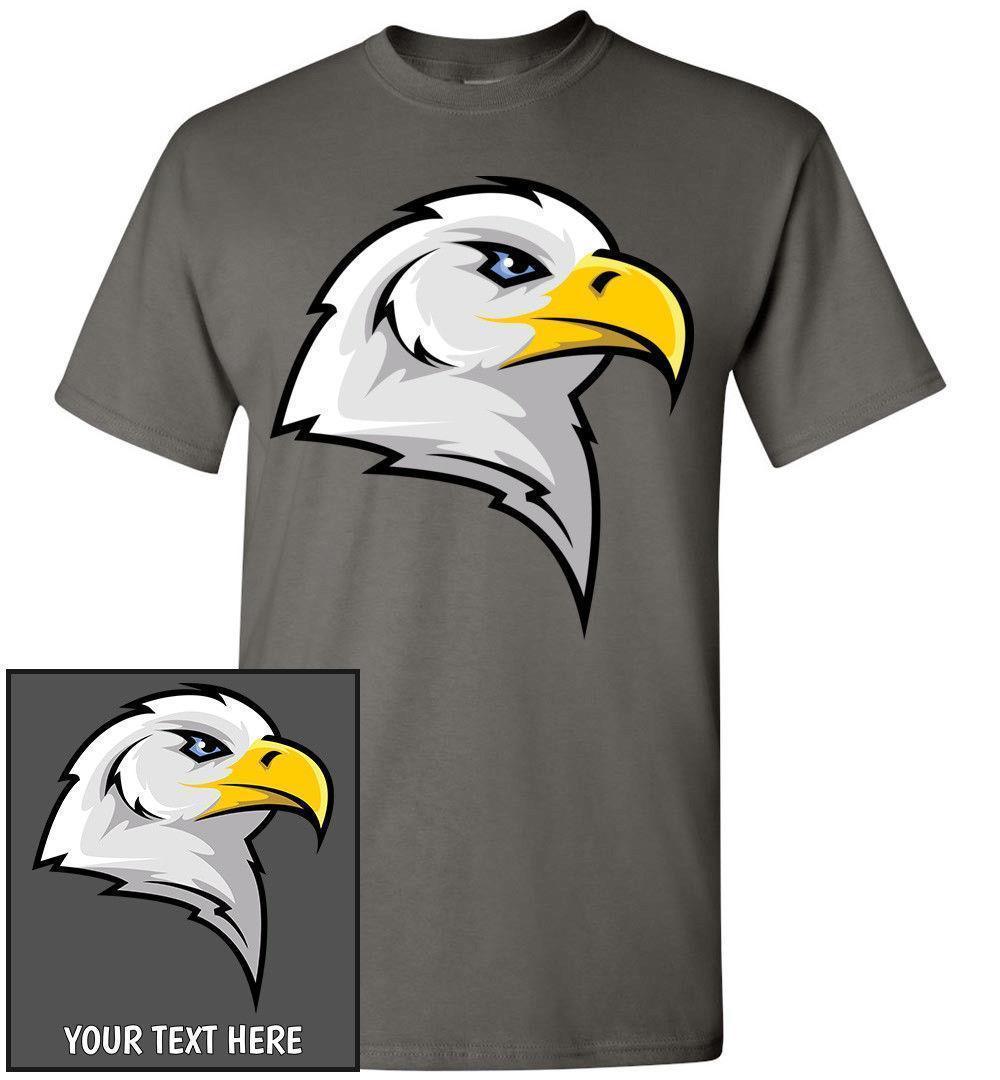 Compre T Shirt Da Cabeça Da Águia Americana c58d70c78e4df