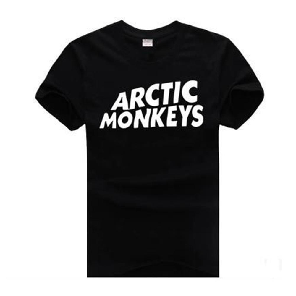 8887f6b6660 ARCTIC MONKEYS Mens Tshirts Short Sleeved Tops Teenager Casual Clothing  Summer Tees Ringer T Shirts Political T Shirts From Fashiongivency