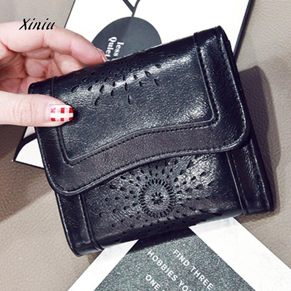 ad49fd5a306 Women Lady Leather Clutch Wallet Short Card Holder Purse Handbag Women  Small Clutch Female Purse Coin Card Holder Dollar Bag Owl Wallet Visconti  Wallet From ...