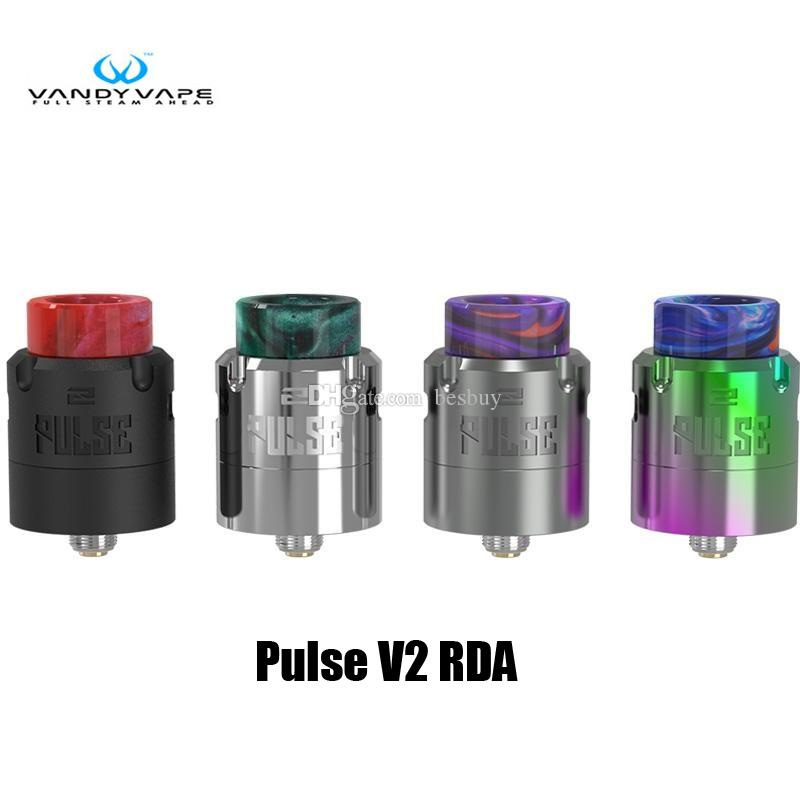100% original vandy vape pulse v2 rda tank 24mm 2ml supports single dual  coil atomozer genuine vandyvape atomism perfume atomiser from besbuy,