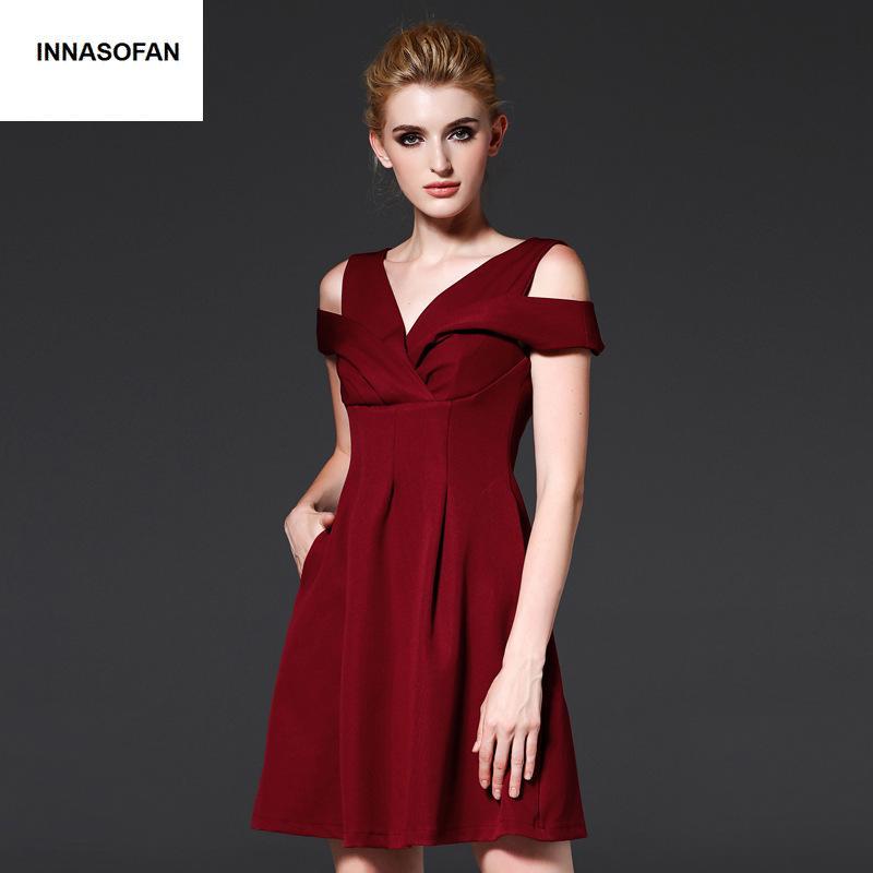 c45111f9d0f0f Satın Al Kız Mini Elbise Kadın Bahar Uçuş Elbise Için Yüksek Bel Euro  Amerikan Moda Zarif Seksi Elbise V Yaka Yaka Kolsuz, $76.21   DHgate.Com'da