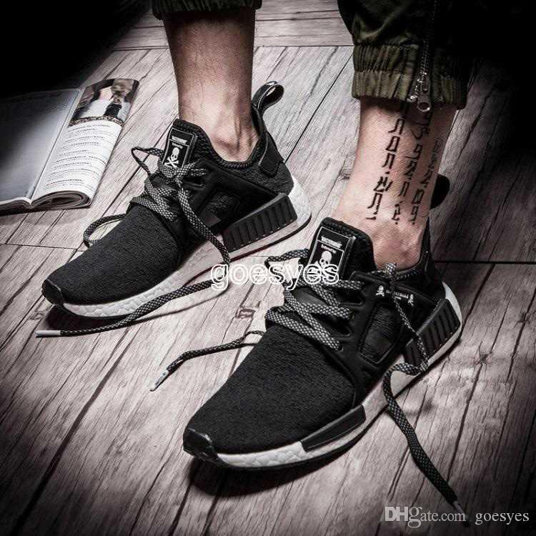 a7195cd28 2019 New Nmd XR1 Runner Mastermind Japan Master Mind Primeknit PK Black Men  Women Running Shoes Sports Shoes Sneakers Size 36 45 UK 2019 From Goesyes