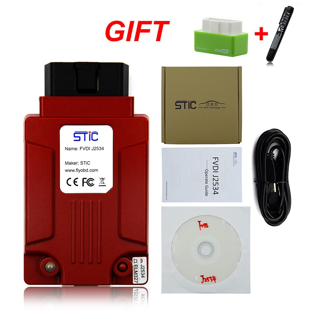 2019 DHL FREE FVDI J2534 for mazda for Fd IDS Forscan auto car diagnostic  Tool can work with ELM327