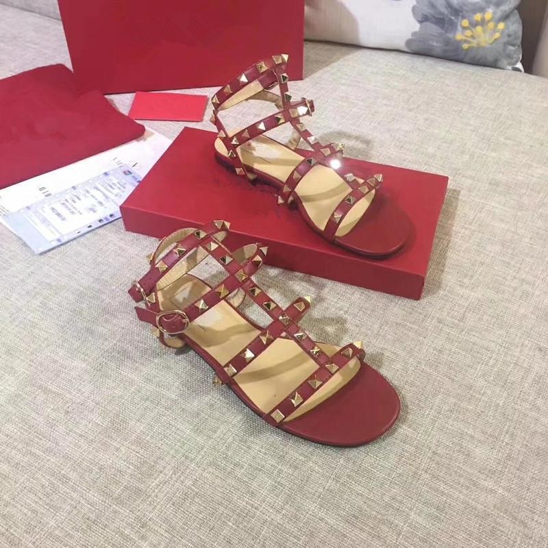 3a9042d60ae 2019 Summer New Fashion Wild Trend College Wind Women S Sandals Flat ...