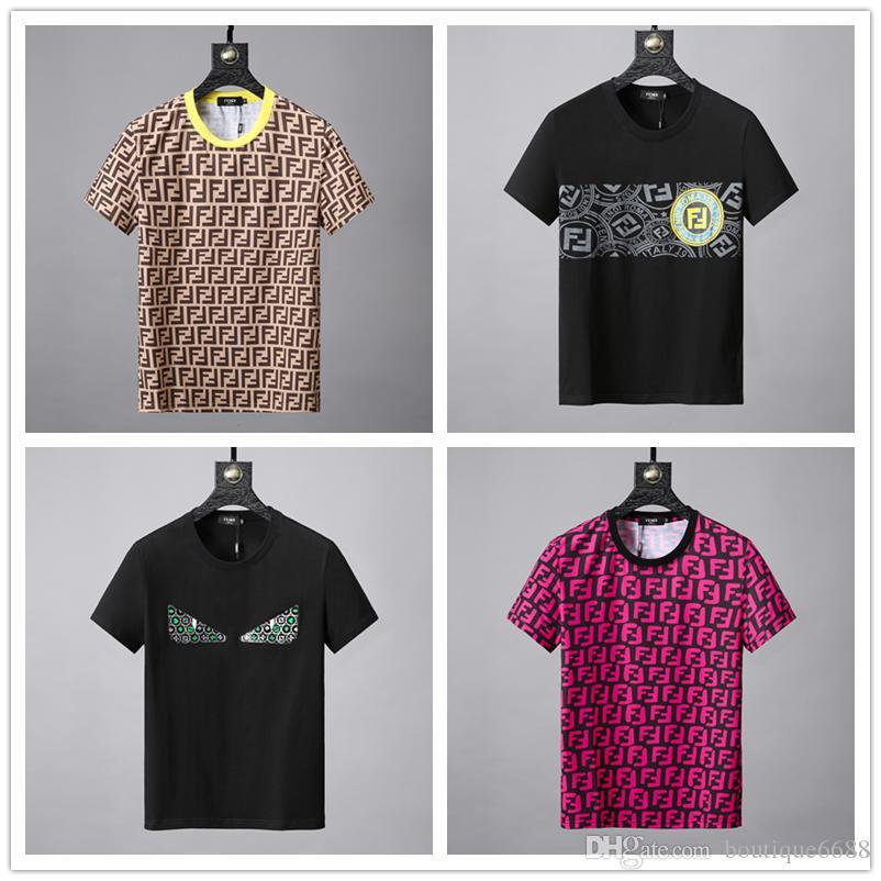 8fa3931bbd 2019 Fashion amiri Marchio T Shirt Hip Hop Bianco Abbigliamento uomo Casual  T-shirt per uomo con lettere stampate TShirt Taglia M-3XL