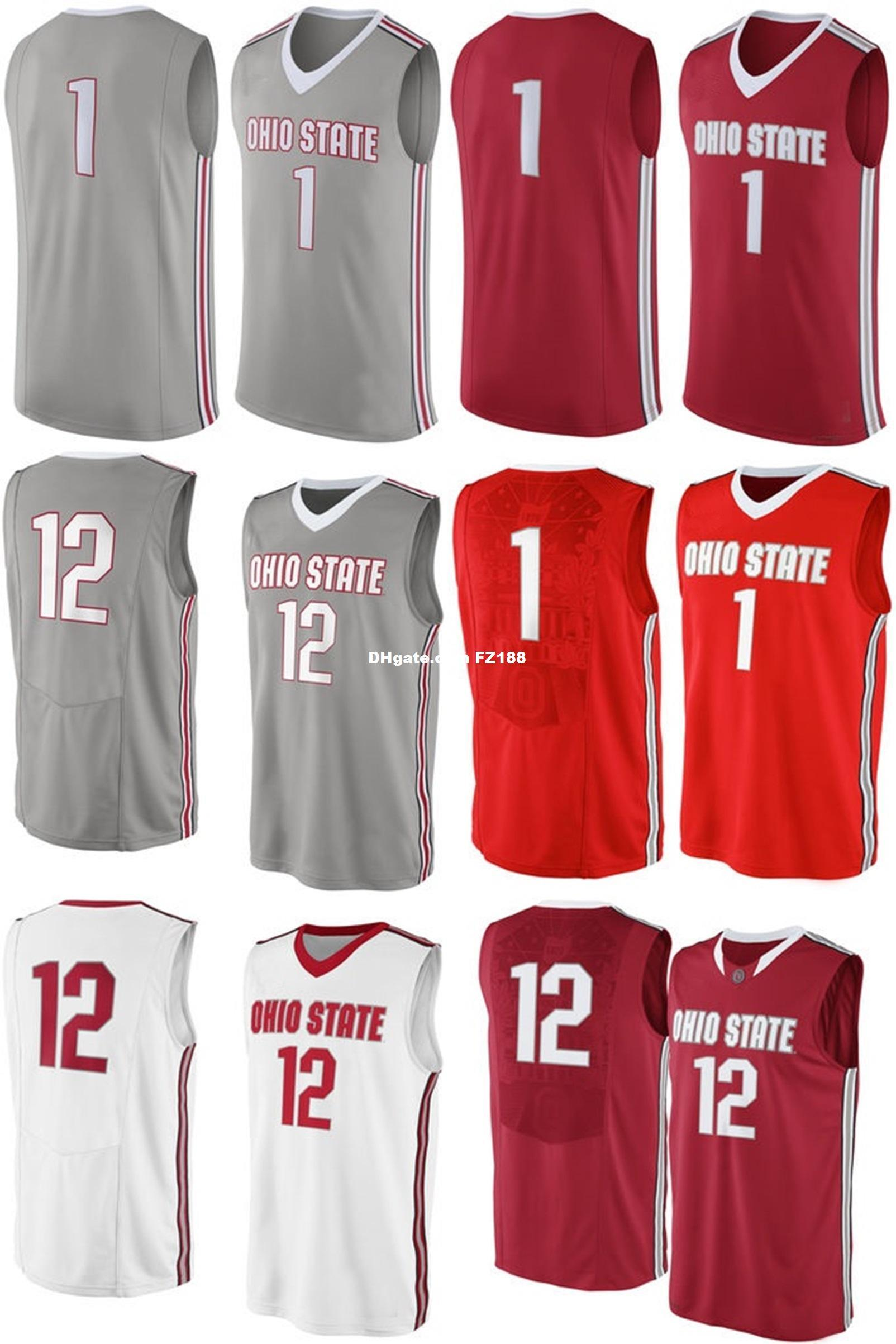 66a8032acb68 2019 Newest Arrival NCAA Ohio State Buckeyes Mens Womens Kids Basketball  Jersey Custom Any Name Any No. XS 6XL College Basketball Sport Jerseys From  ...
