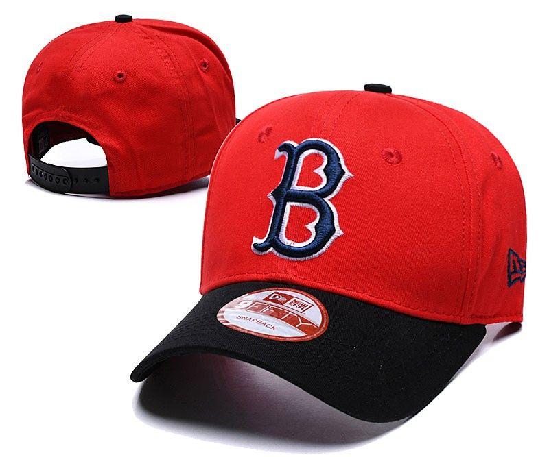 04b967f0f6cdb2 2018 New Men'S Red Sox Snapback Hats Golf Visor Red Color Embroidered B  Letter Team Logo Brand Hip Hop Sports Baseball Adjustable C Baseball Cap  Flat Cap ...