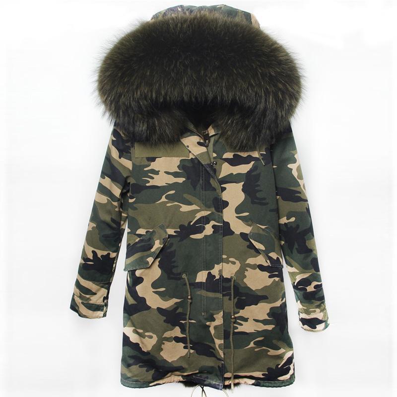Veste d'hiver camouflage
