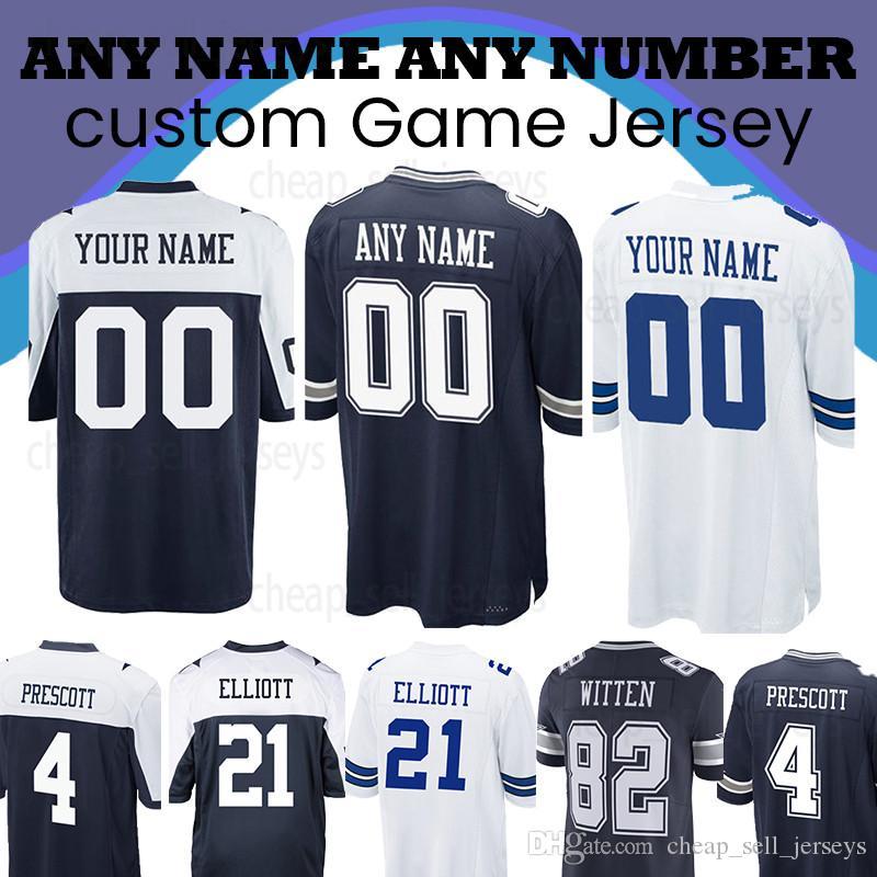 newest 82ce4 946f5 Custom Jersey Cowboys jersey 19 Brice Butler 90 DeMarcus Lawrence 5 Dan  Bailey 20 Darren McFadden 48 Daryl Johnston 54 Jaylon Smith
