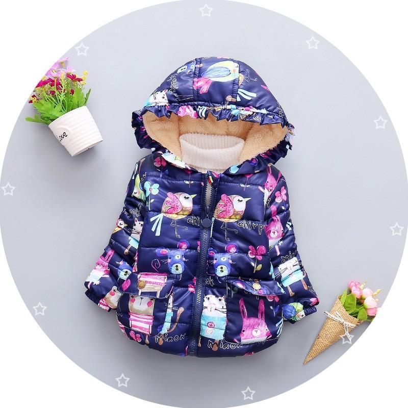 cc6e53c21 Good Quality Winter Jacket for Girls Baby Fleece Coat Kids Parka ...