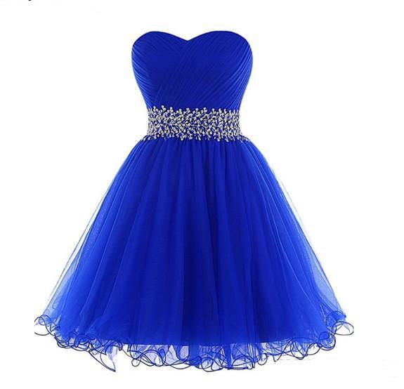 Royal Blue Sequined Short Prom Dress Sexy Formal Party Gown Beading Mint Green Prom Dresses Black Elegant Girl Women Dress