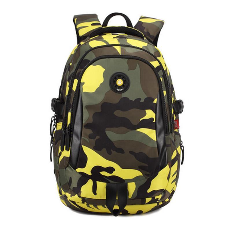a6d804a703602 Großhandel Wasserdichte Camouflage Rucksack Jungen Schulrucksack Kinder  Schultaschen Für Jugendliche Mädchen Schultasche Männer Reisetaschen Für  Kinder ...