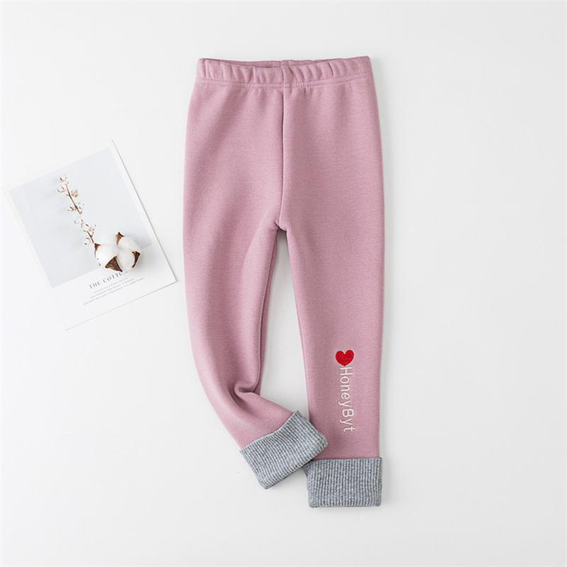9d12f1af496 Good Quality Girls Autumn Winter Leggings Pants Kids Cotton Thick Velvet  Trousers For Baby Girls Children Clothing Warm Girls Pants Boys Cargo Pants  Size 14 ...