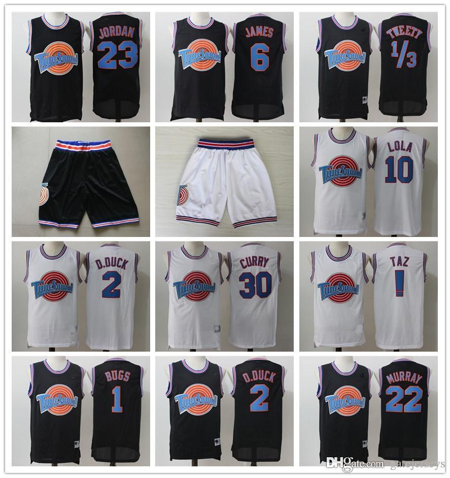 Acquista Movie 23 Michael 1 Bugs Bunny Jersey! Taz 1 3 Tweety Space Jam Tune  Squad 22 Bill Murray 10 Lola 2 D.DUCK Basketball Jerseys Mens Bambini A   30.46 ... 3a4364d87717