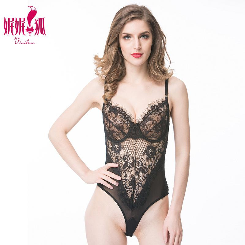 900aa42fc1 Sexy Lingerie European And American Sexy Lace One-piece Pajamas ...