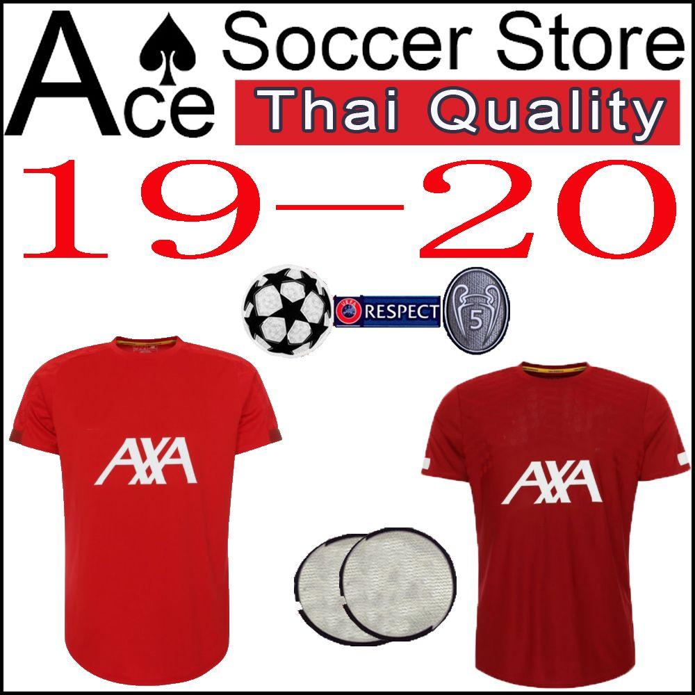 hot sale online 9493c b0b38 5 WIJNALDUM 7 MILNER soccer Jersey 19 20 training wear red 8 FABINHO 9  FIRMINO 11 M.SALAH AXA 10 MANE Sweatshirt 2019 2020 SHAQIRI shirt