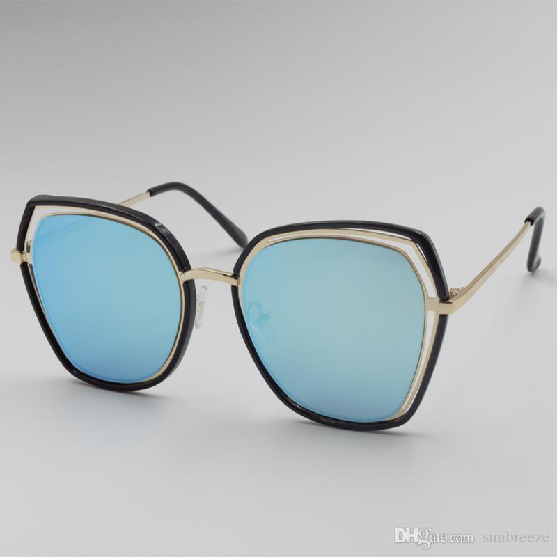 d2b30df513c SunBreeze Summer Newest Style Luxury Men S Glasses Club Sunglasses Classic  Vintage Retro PC Frame Metal Hinge UV Protection With Case John Lennon  Sunglasses ...