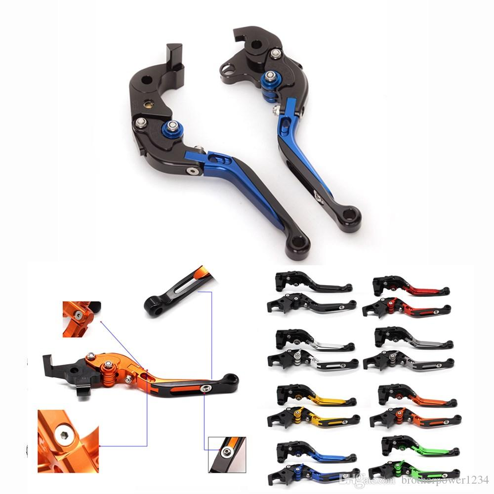 Motorcycle CNC Foldable Extendable Clutch Brake Levers For Buell XB9 2003-2009 XB12 2004-2008