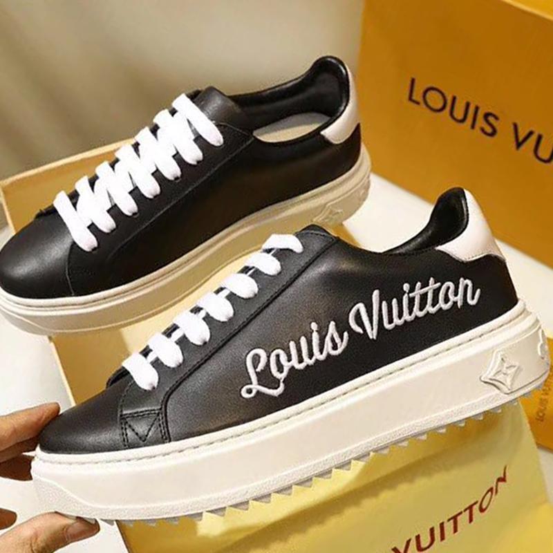 finest selection 1d32e 35456 Damenschuhe Mode dicke Sohle Sportschuhe Schuhe mit Logo und Origin Box  Time Out Sneaker Heißer M # 22 Schnelles Verschiffen