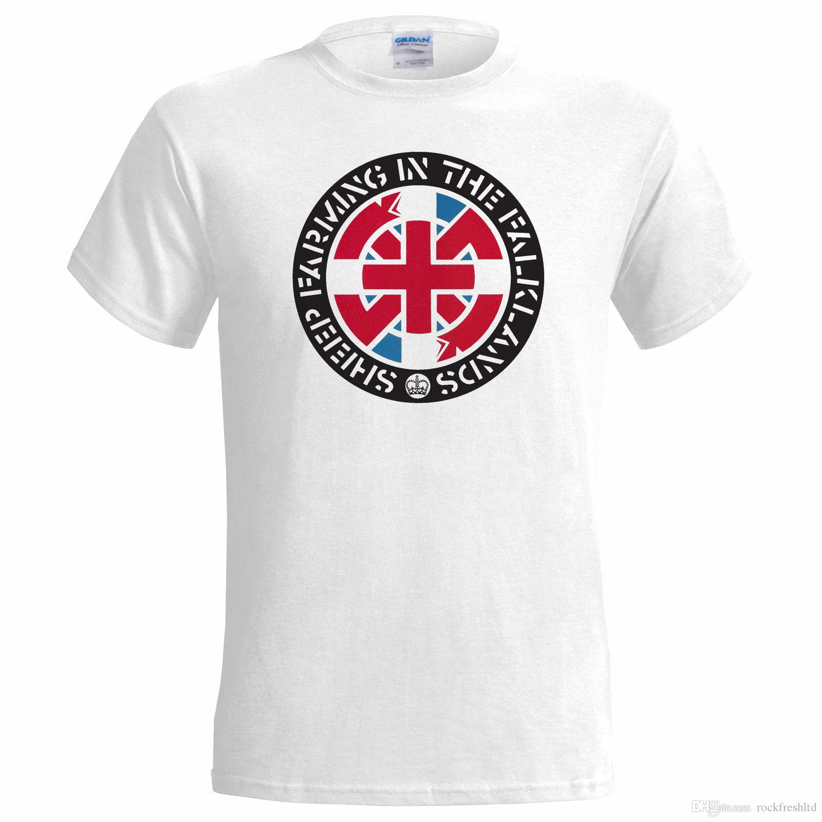 14bf83704 Crass Sheep Farming In The Falklands Steve Ignorant Punk Anarchy Chaos  Disobey R Shirt Political Tee Shirts From Rockfreshltd, $10.18| DHgate.Com