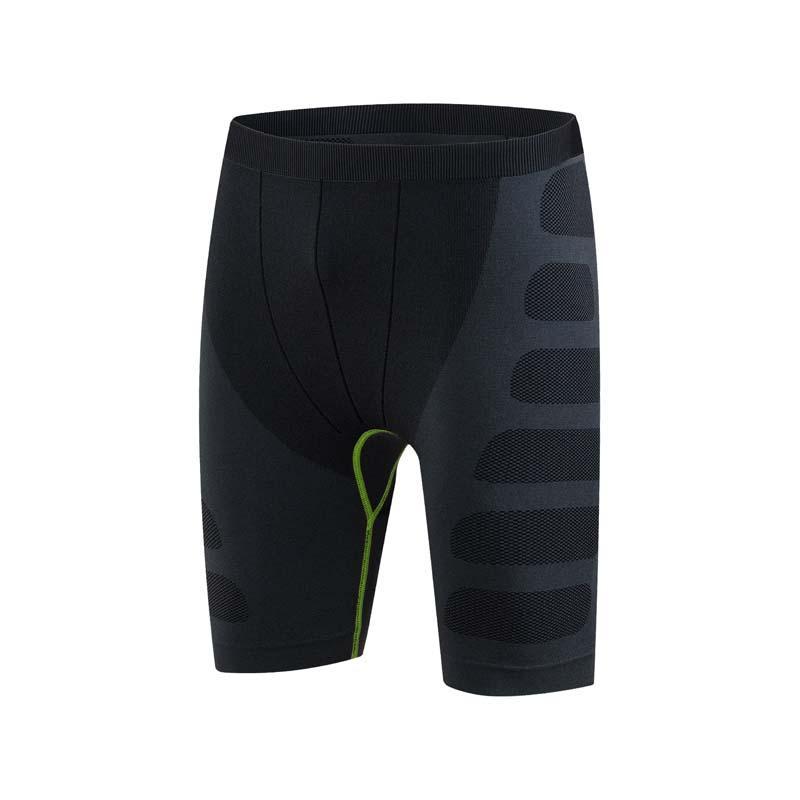 Compre Pantalones Cortos Para Correr Para Hombre Elástico Secado Rápido  Gimnasio Entrenamiento Apretado Correr Deportes Gimnasio Pantalones Cortos  ... 24d6b7f07295