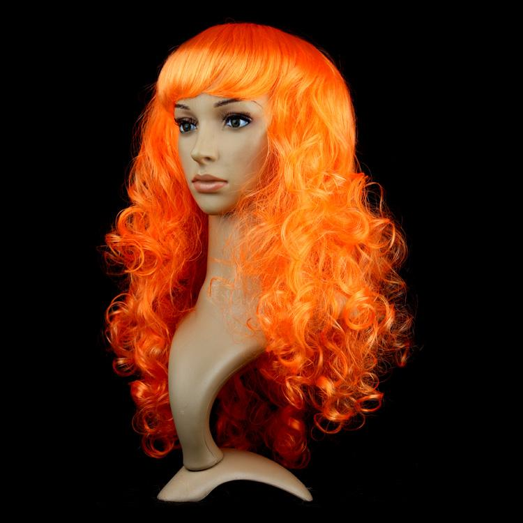 Cospaly Wig Headwear Big Wave Fiber Hair Night Party Curly Hair For Women Wig Cove Halloween Christmas Masquerade COS