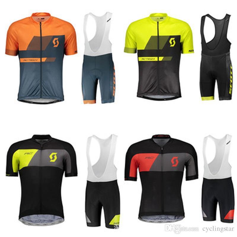 ef2c10f3d8 Ropa De Ciclismo De Verano SCOTT Para Hombre, Kit De Bicicleta De Montaña,  Conjuntos De Uniformes 2019 Ropa De Ciclismo Maillot, Traje De Hombre, ...