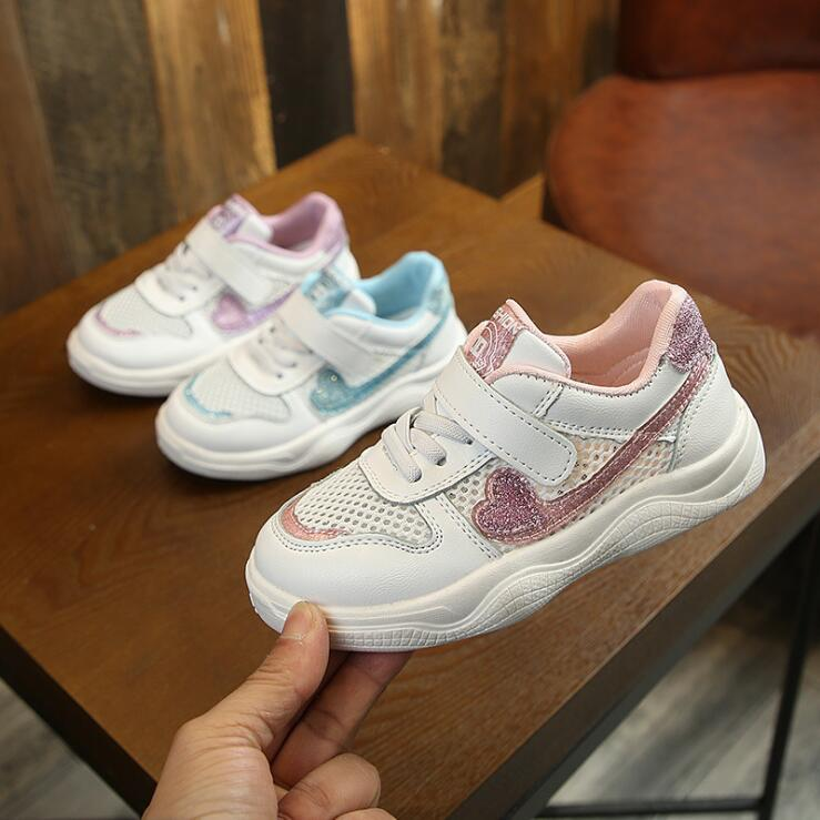 Summer Baby Toddler Girls Boys Air Mesh Cut Out Breathable Sneakers Little Kid Sport Casual Trainers Children Lightweight Shoes
