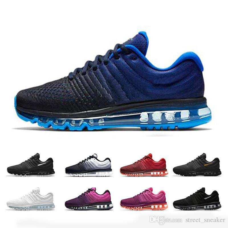 sports shoes e58a7 0f392 2019 2017 New Maxes 2018 KPU II Discount Price Men Women Running Shoes With  Top Quality Fashion Outdoor Sports Sneakers Shoes Us 5.5 11 From  Street sneaker, ...