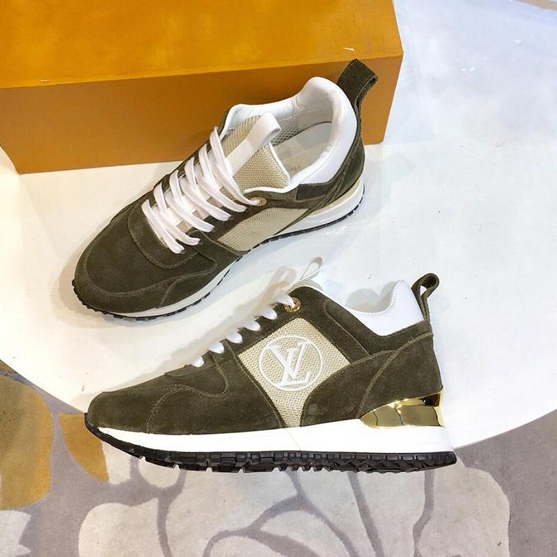 6c6b1564b8 Scarpe sportive da donna Scarpe da ginnastica Calzature con scatola  originale Chaussures pour Femmes Scarpe da corsa comode Runway Sneaker  Vendita ...