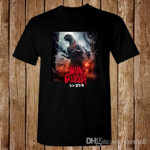 e69c2071 Shin Godzilla Movie Monster Resurgence Japan Size S 5XL T Shirt Funny Rude T  Shirts Trendy Mens T Shirts From Thestudi, $10.77| DHgate.Com