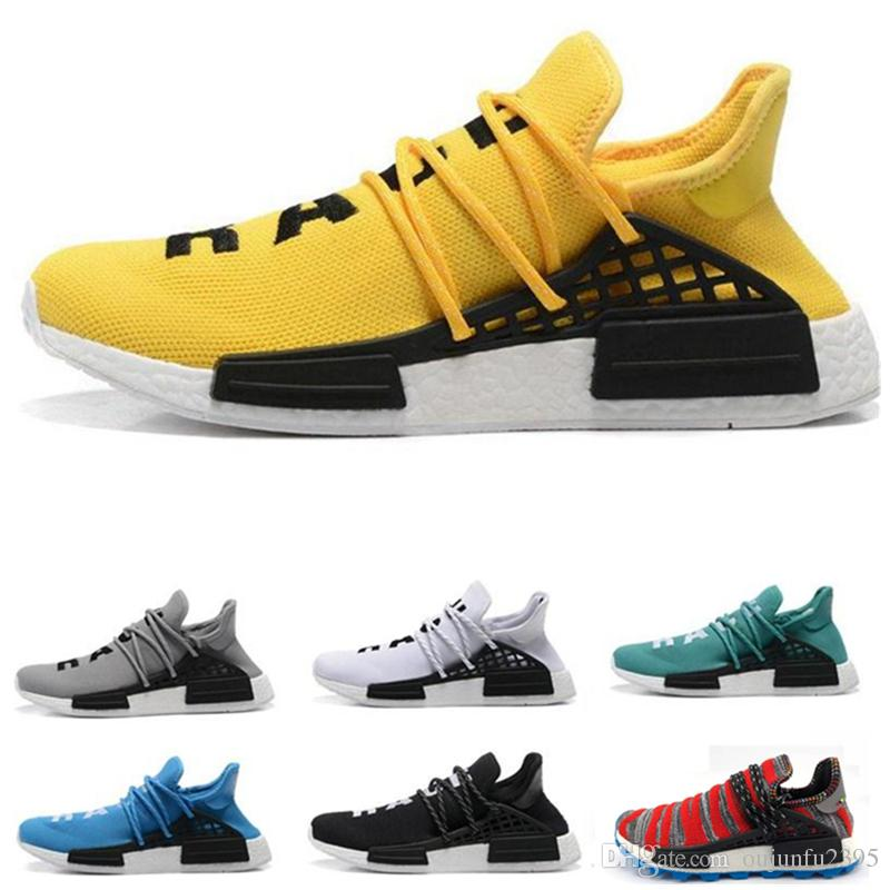2616af4c5 Wholesale 2018 Cheap Wholesale NMD HUMAN RACE Pharrell Williams X 2016  Men 039 S   Women 039 S Discount Cheap Fashion Sport Shoes Free S Sneakers  Men Buy ...
