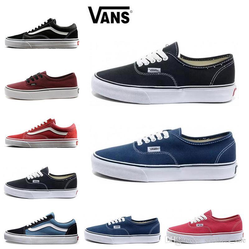 Vans Old Skool Black Fashion Men