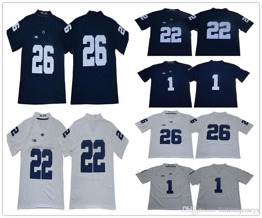 9def93147ad 2019 Men Penn State Nittany PSU College Football Man Women Kids 1 Joe  Paterno 22 John Cappelletti 26 Saquon Barkley Jerseys From Famousjerseys,  ...