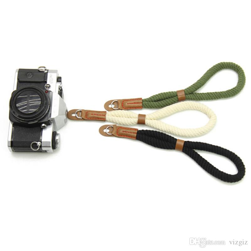 1Pc Camera Strap Wrist Strap Hot Sale Hand Nylon Rope Camera Wrist Straps Wrist Band Lanyard For Leica Digital SLR Camera