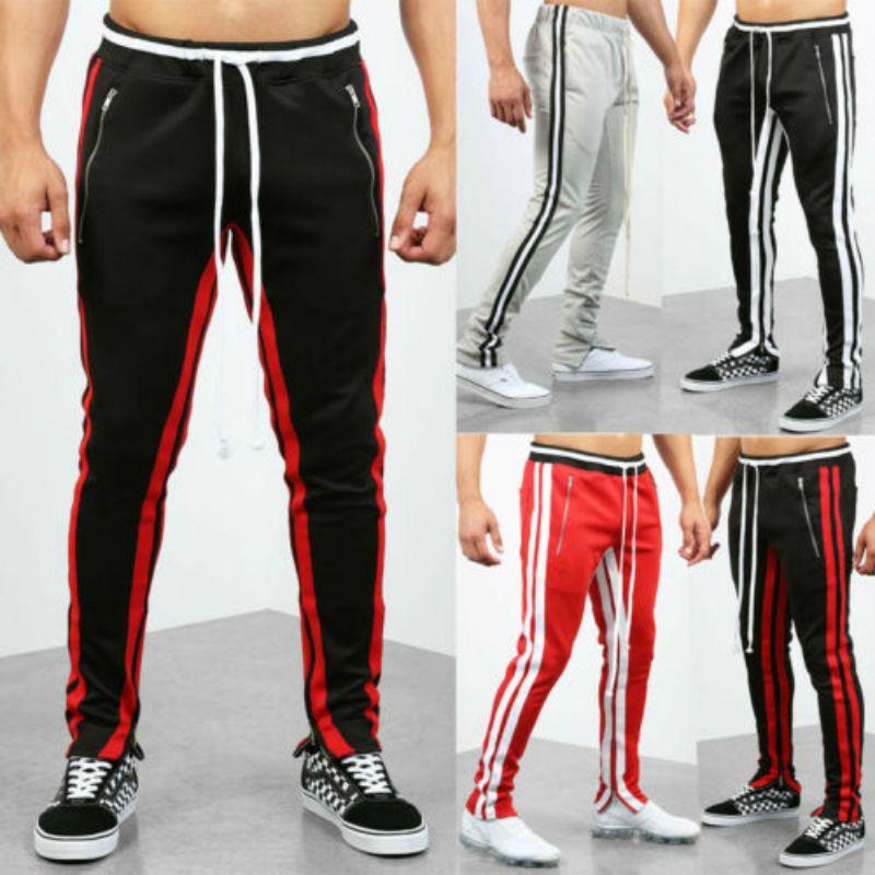 037784ae50bf Acquista Pantaloni Sportivi Da Uomo Casual Pantaloni Da Palestra Pantaloni  Da Jogging Running Pantaloni Sportivi A $26.56 Dal Merrylily | DHgate.Com