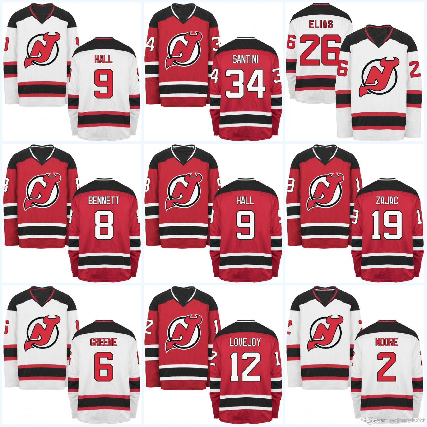huge selection of 55c42 8af94 Zajac Jerseys 16 Josefson Elias Devils 9 Travis Ben New 19 ...