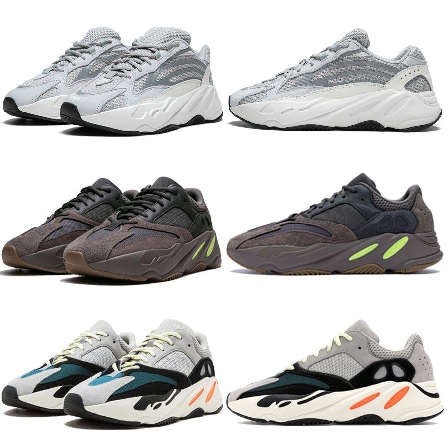 e275ab9e1 700 V2 Static Wave Runner Mauve EE9614 Solid Grey B75571 Running Shoes Men  Women Best Quality Athletics Kanye West Sport Sneakers 36-46 Designer Shoes  Men ...