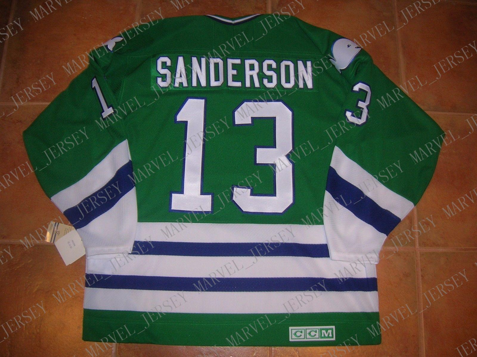 2019 Cheap Custom  13 Geoff SANDERSON Hartford WHALERS CCM VINTAGE Jersey  Mens Personalized Stitching Jerseys From Marvel jersey 36672f8e1